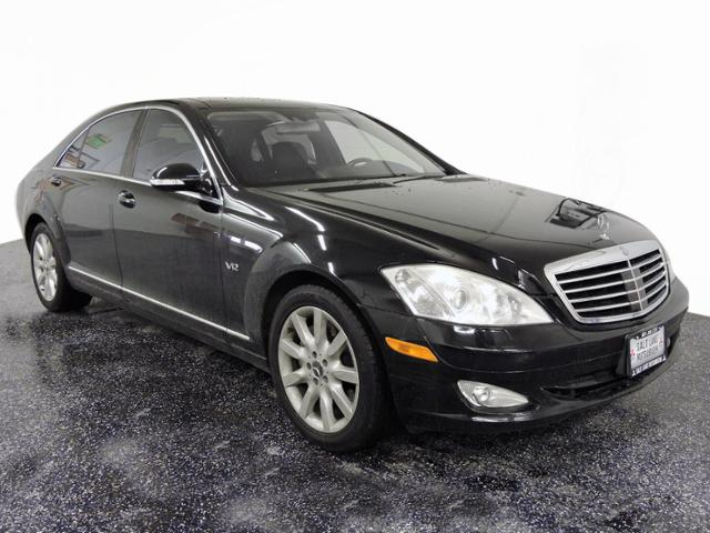 Pre-Owned 2007 Mercedes-Benz S-Class 5.5L V12 RWD 4dr Car